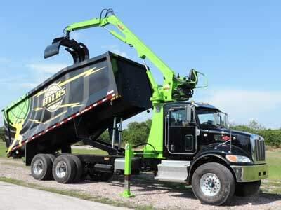 Atlas Lightning Loader Grapple Truck