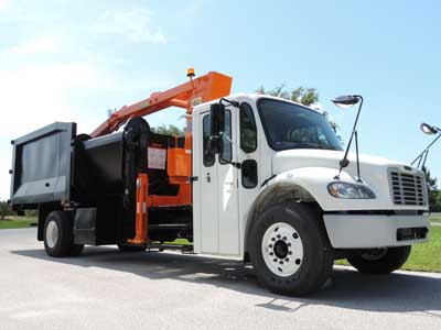 Route Assist Grapple Truck