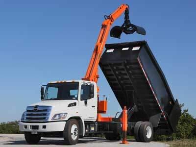 Trash Truck Grapple Truck