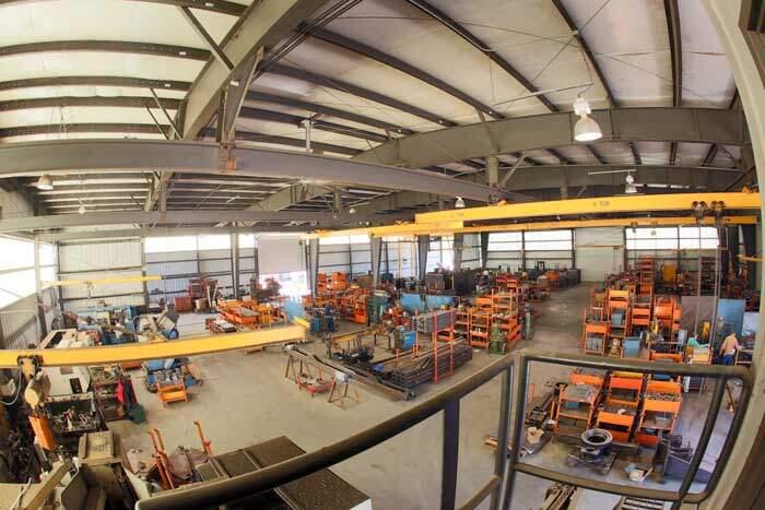 Petersen Industries - Warehouse inside