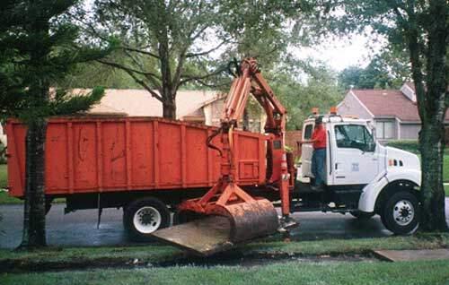 Sidewalk removal