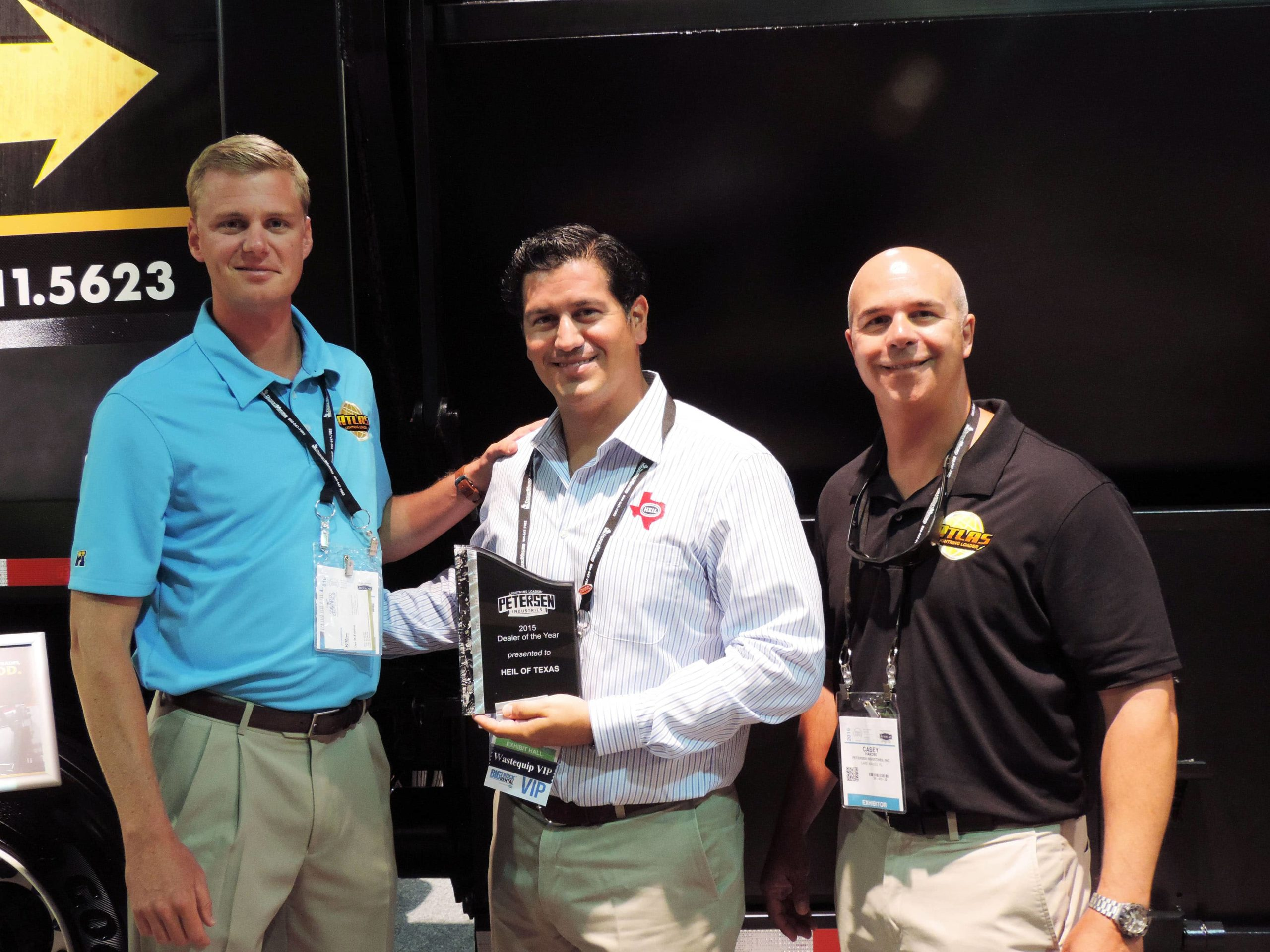 Waste Expo 2016 028 Dealer of the Year