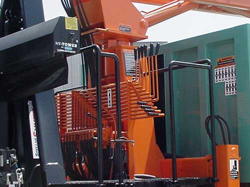HL3 Hooklift Truck Mount Grapple Loader controls