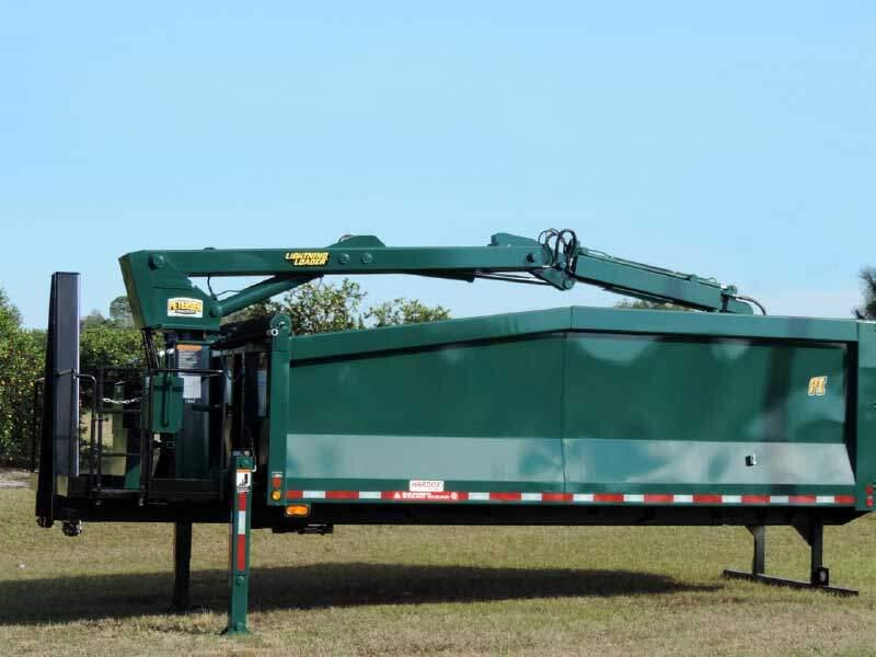HL3 Hooklift Truck Mount Grapple Loader skid