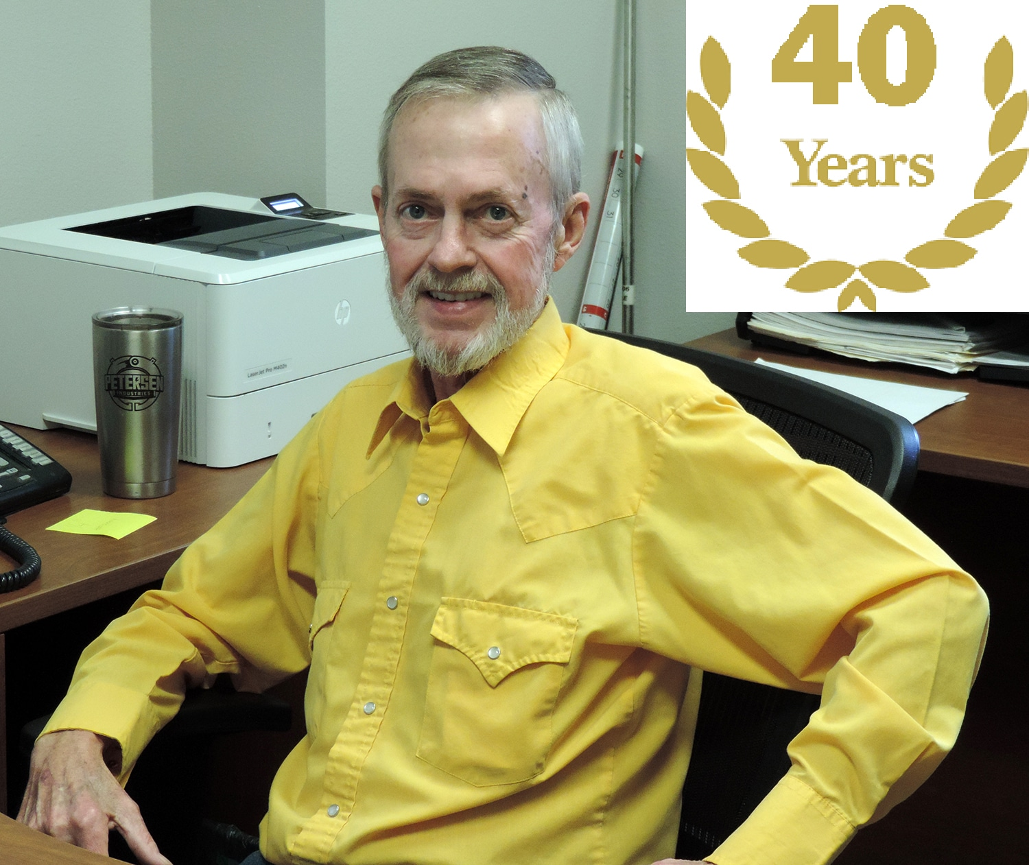Jimmy Tillman Celebrating 40 Years at Our Company