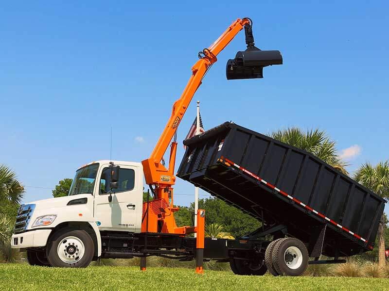 TL3 Trash Truck Grapple Loader