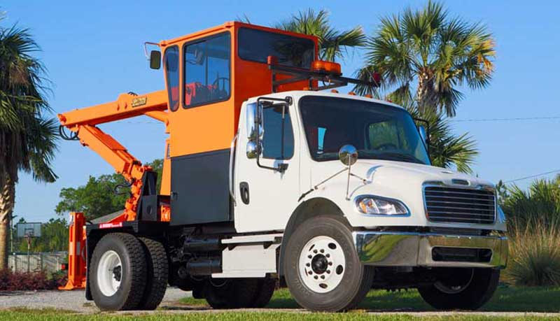 Used Grapple Truck RS3