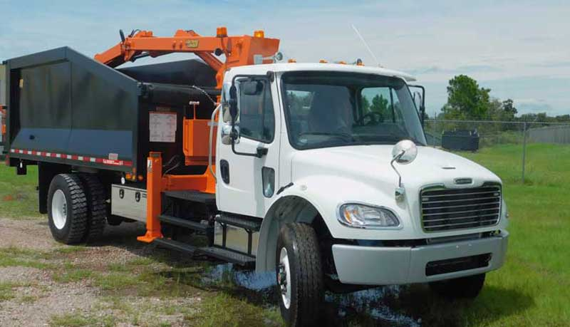 Used Grapple Truck TL3